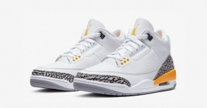 Nike Air Jordan 3 Retro Laser Orange til Kvinder CK9246-108
