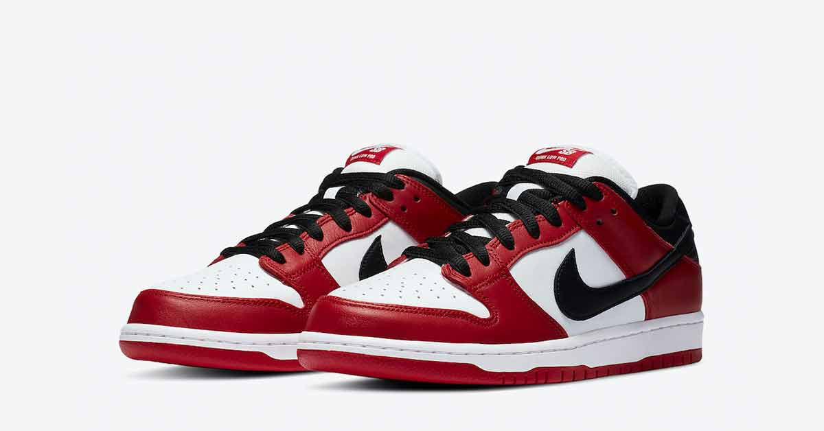 Nike SB Dunk Low Chicago BQ6817-600
