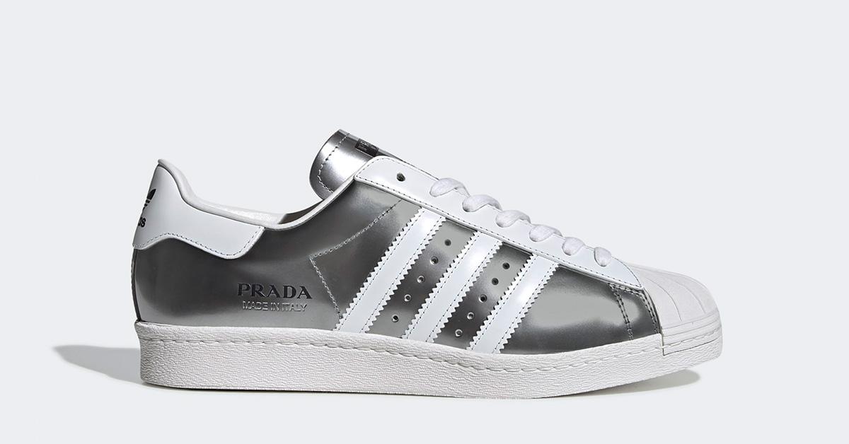 Adidas Prada Superstar Sølv