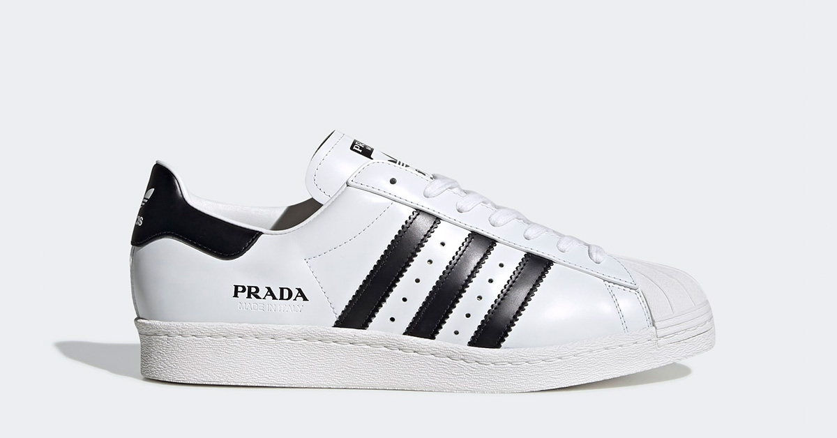 Adidas Prada Superstar Hvid Sort