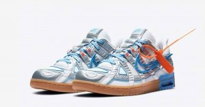 Off White x Nike Air Rubber Dunk University Blue CU6015-100