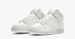 Slam Jam x Nike Dunk High Clear White DA1639-100
