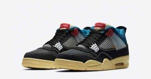 Union x Nike Air Jordan 4 Off Noir DC9533-001