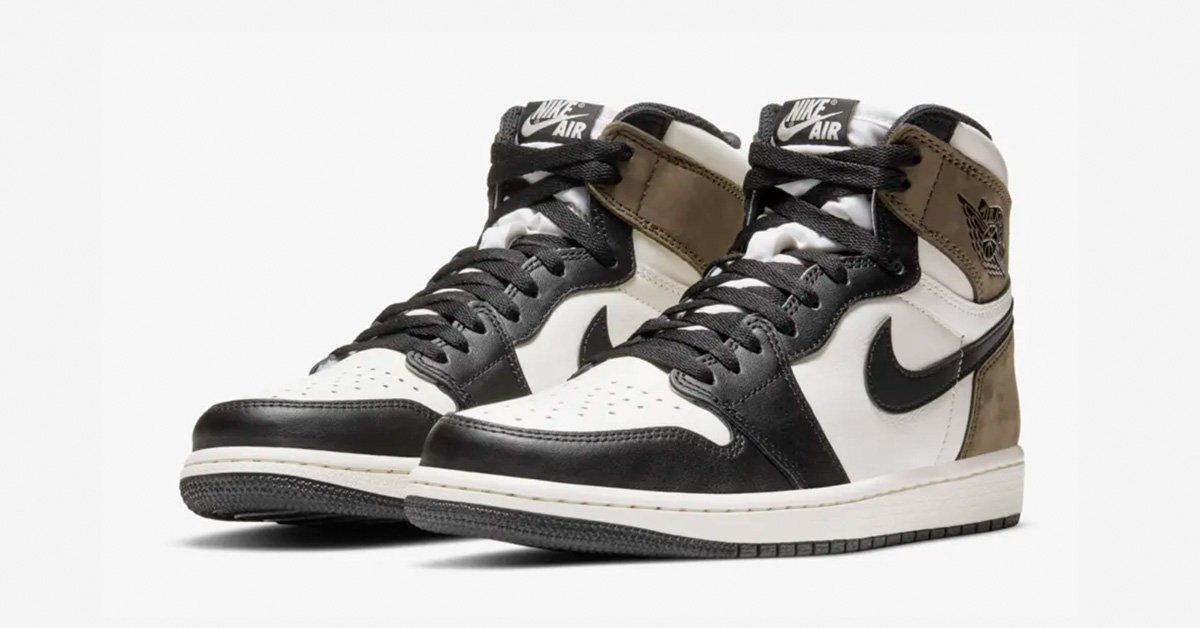 Nike Air Jordan 1 High Black Mocha 555088-105