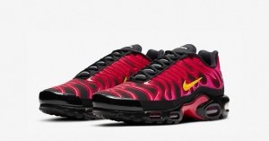 Supreme x Nike Air Max Plus Fire Pink