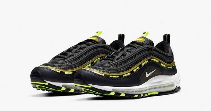 Undefeated x Nike Air Max 97 Black Volt DC4830-001