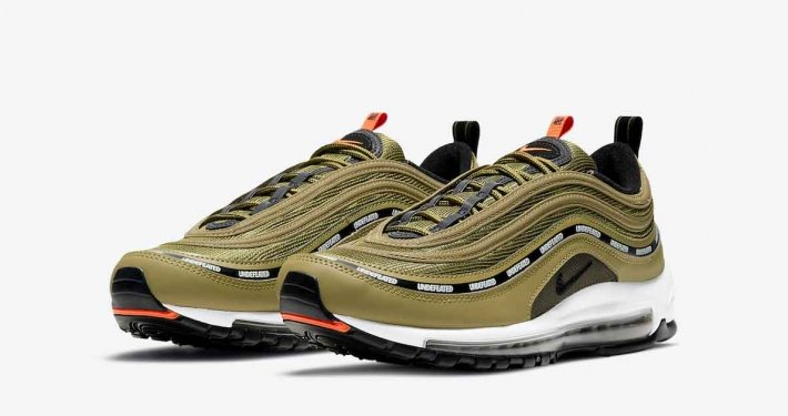 Undefeated x Nike Air Max 97 Militia Green DC4830-300