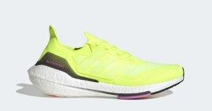 Adidas UltraBOOST 21 Gul Hvid FY0373