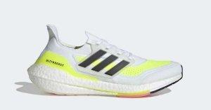 Adidas UltraBOOST 21 Hvid Gul FY0377