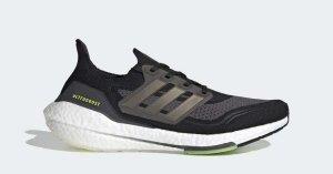 Adidas UltraBOOST 21 Sort Hvid FY0378