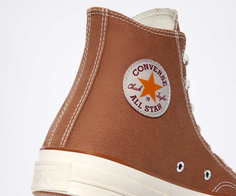 Carthartt x Converse Chuck 70 Classic High Brown