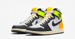 Nike Air Jordan 1 High Volt Gold