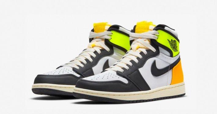 Nike Air Jordan 1 High Volt Gold