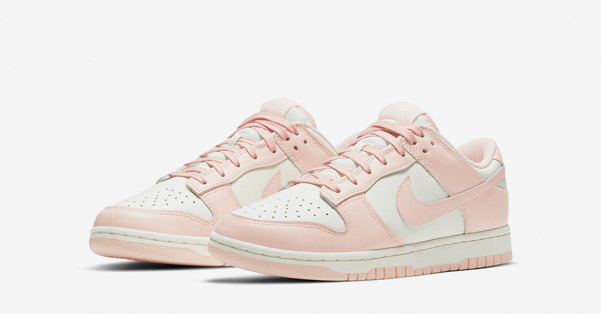 Nike Dunk Low Hvid Pink til kvinder