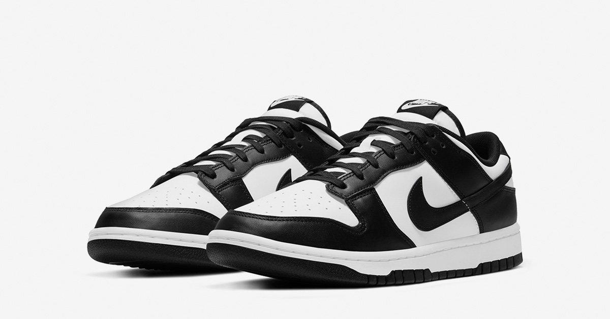 Nike Dunk Low Sort Hvid