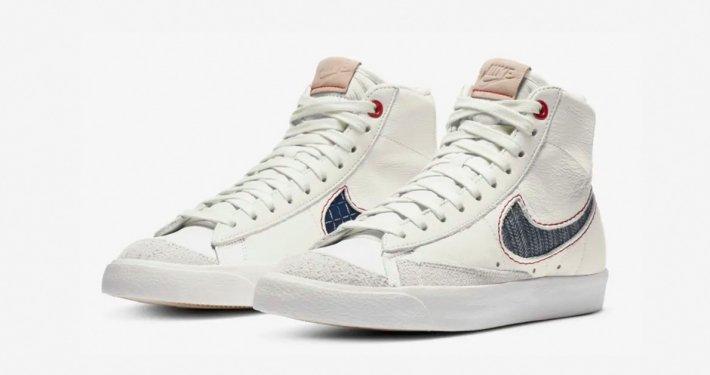 DENHAM x Nike Blazer Mid 77