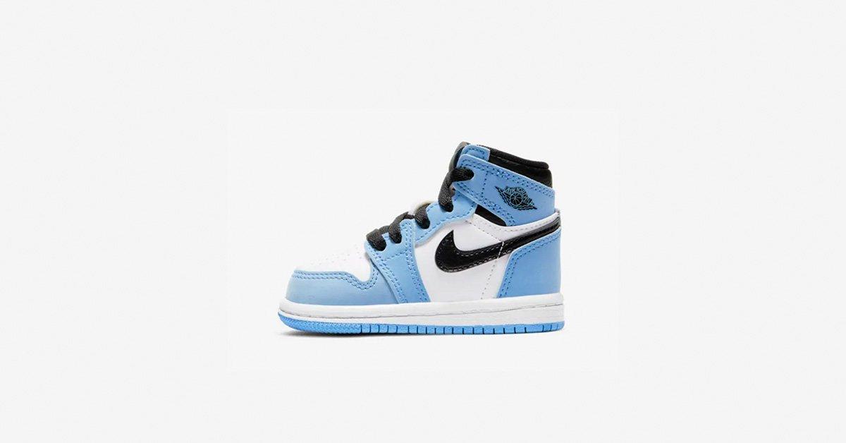 Nike Air Jordan 1 High Lyseblå Baby