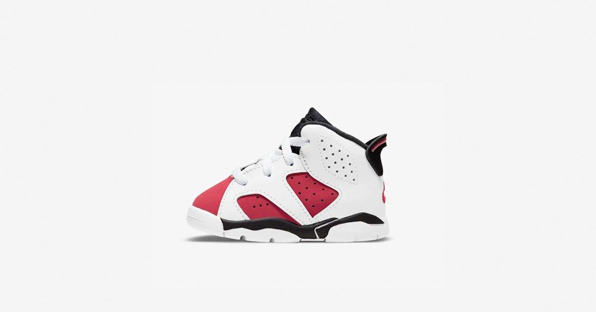 Nike Air Jordan 6 Carmine til. børn