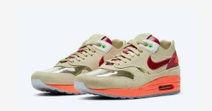 CLOT x Nike Air Max 1 Kiss of Death DD1870-100
