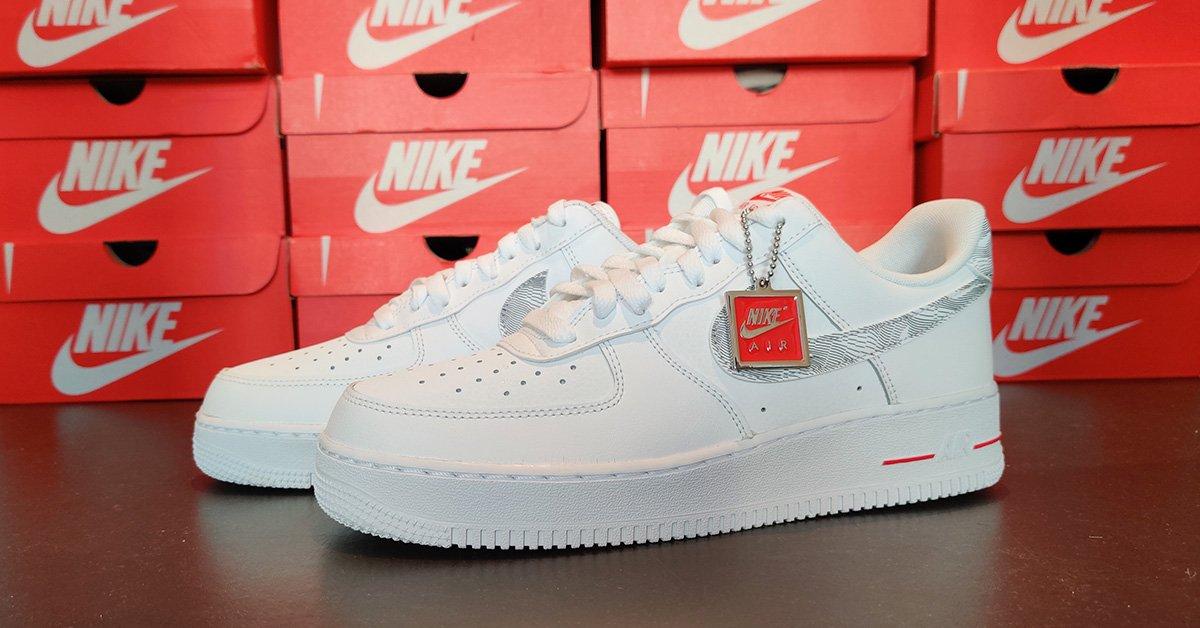 Hvide Nike Air Force 1 Low Footlocker