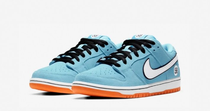 Lyseblå Nike SB Dunk Pro Blue Chill