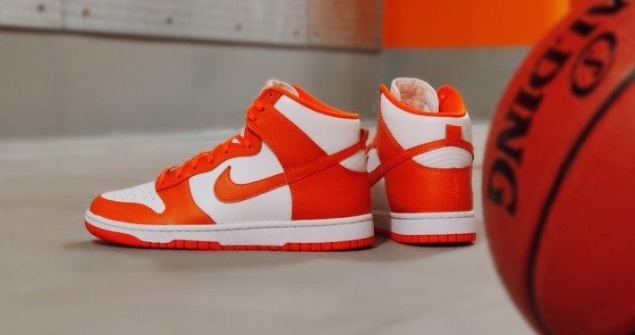 Unboxing: Nike Dunk Hi Retro Orange Blaze