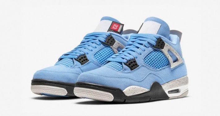 Nike Air Jordan 4 Lyseblå CT8527-400