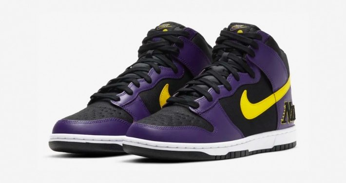 Nike Dunk High Lakers DH0642-001