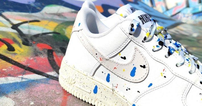 Unboxing: Nike Air Force 1 Low Paint Splatter