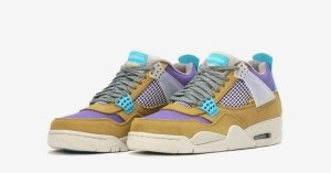 Union x Nike Air Jordan 4 Desert Moss