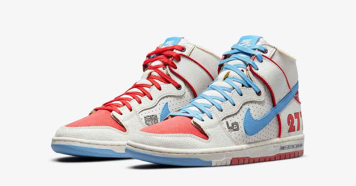 Ishod Wair x Nike SB Dunk High DH7683-100