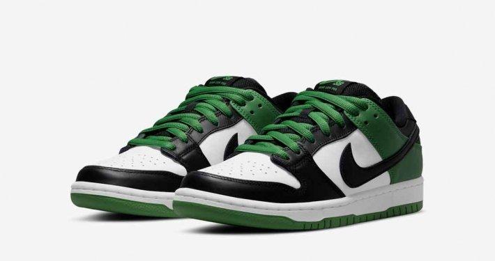 Nike SB Dunk Low Classic Green BQ6817-302