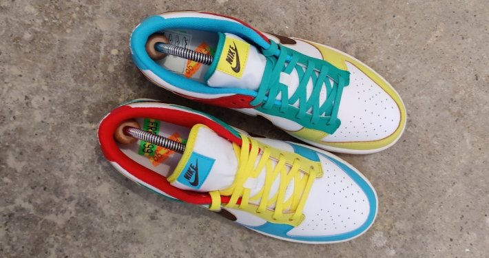 Unboxing: Nike Dunk Low Free 99 DH0952-100