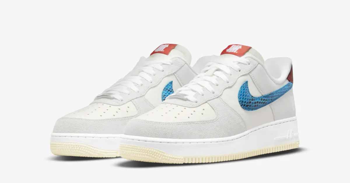 Undefeated x Nike Air Force 1 DM8461-001