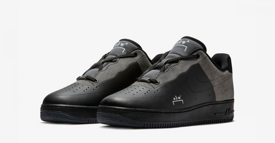 A-COLD-WALL x Nike Air Force 1 Sort