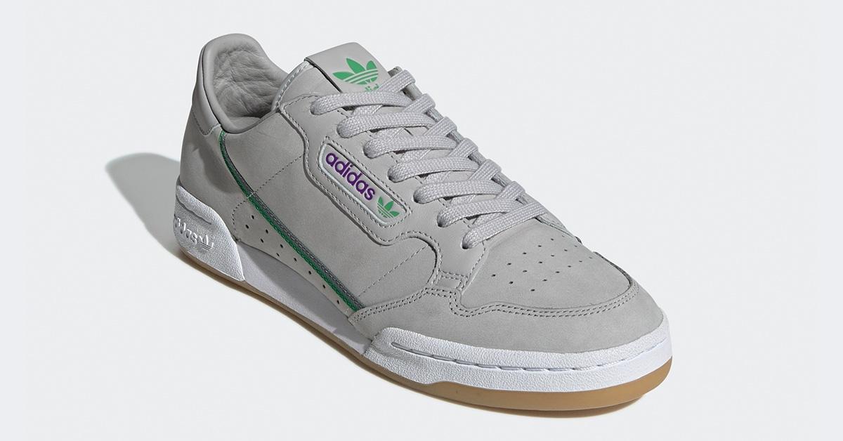 Adidas Continental 80 TFL Grå Grøn EE7268