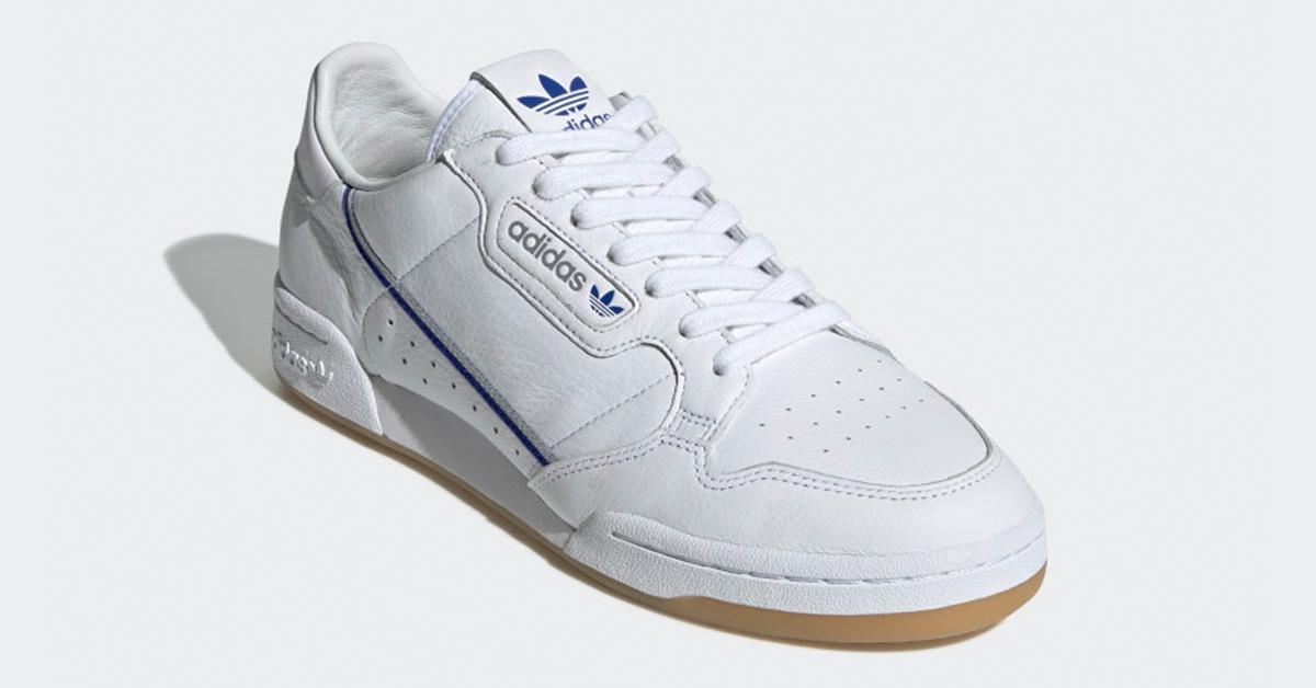Adidas Continental 80 TFL Hvid Blå EE9548