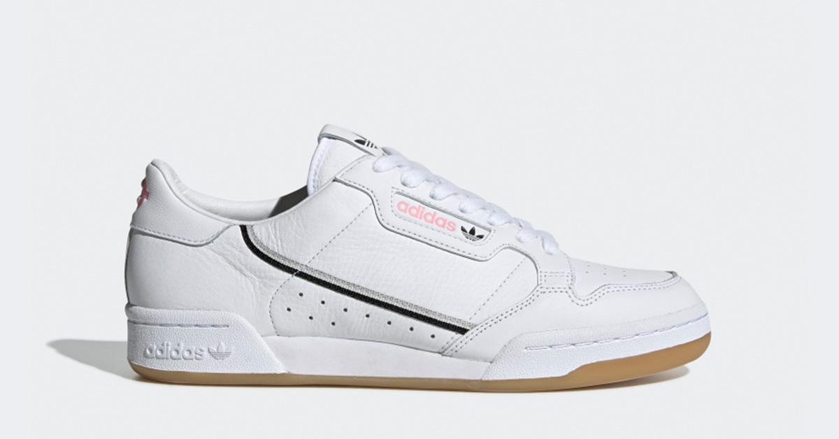 Adidas Continental 80 TFL Hvid Sort EE9547