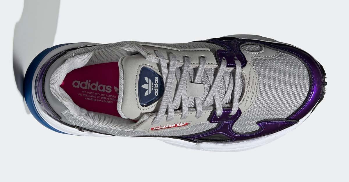 Adidas Falcon Grå Lilla til kvinder DB2689