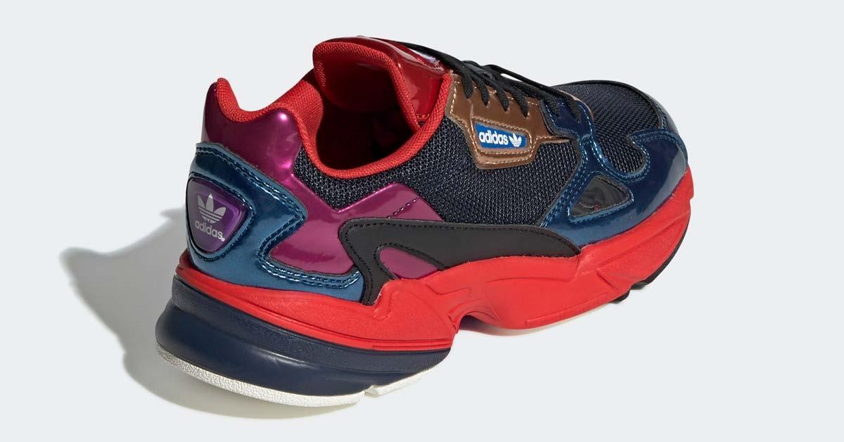 Adidas Falcon Navy Rød til kvinder CG6632