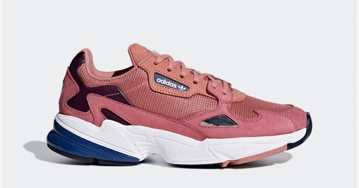 Adidas Falcon Raw Pink til kvinder D96700