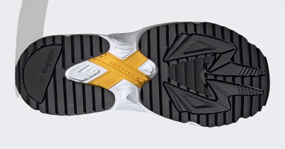 Adidas Falcon Trail Sort Hvid EF9024