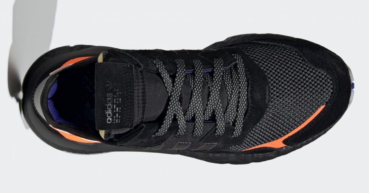 Adidas Nite Jogger Sort Orange CG7088