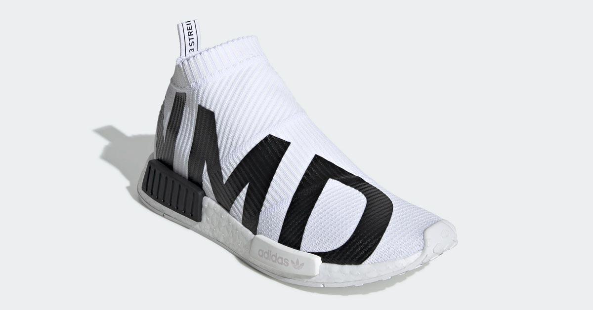 Adidas NMD CS1 Hvid Sort EG7538
