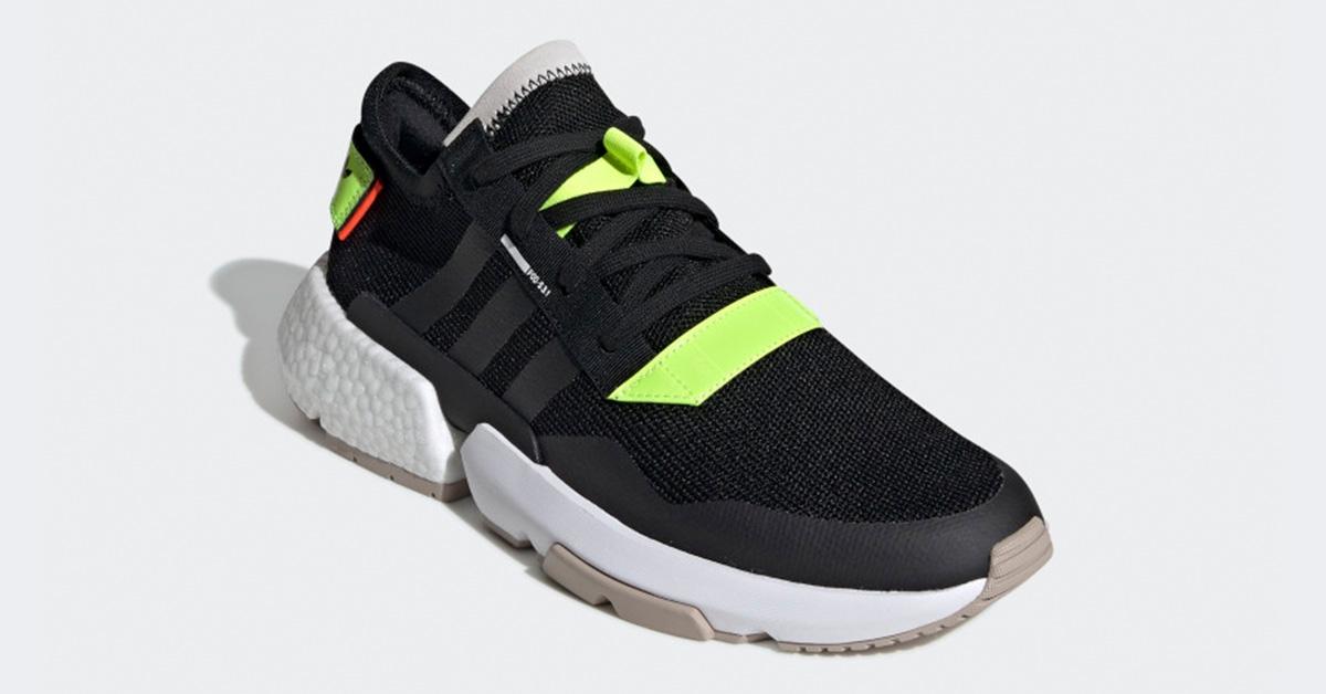 Adidas P.O.D S3.1 Sort Gul BD7693