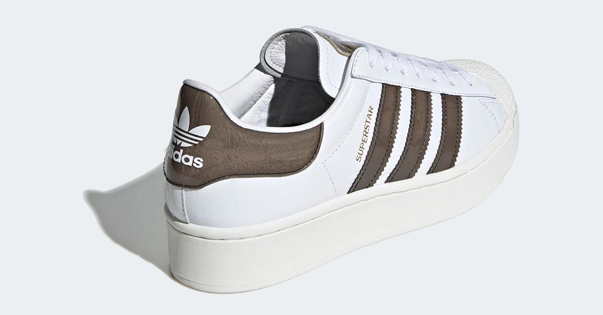 Adidas Superstar Bold Hvid Sort FV3356