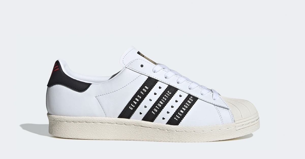 Adidas Superstar Human Made Hvid Sort FY0728