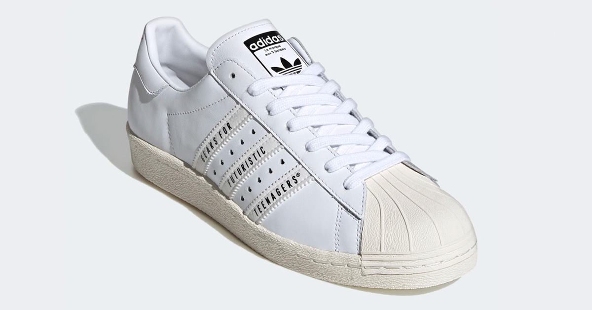 Adidas Superstar Human Made Hvid FY0730