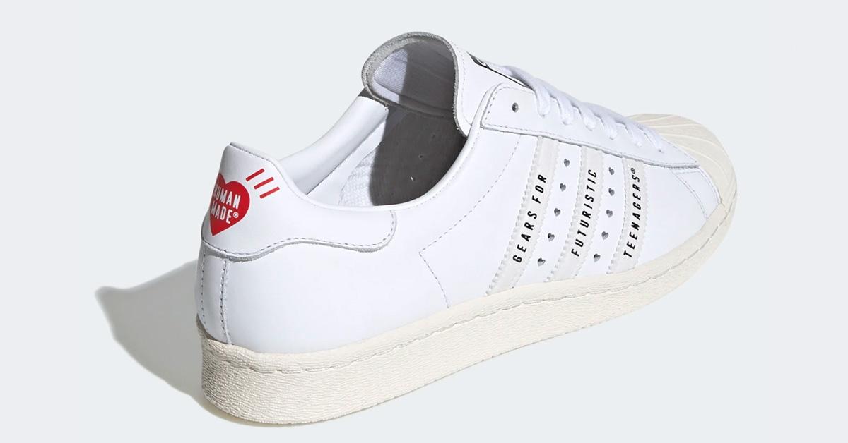 Adidas Superstar Human Made Hvid FY0730