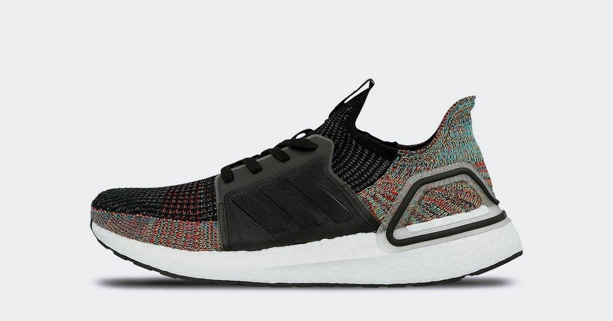 Adidas Ultra Boost 19 Grey Six B37706